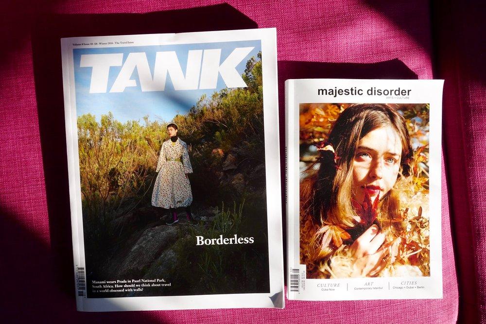 tank magazine majestic disorder magazine