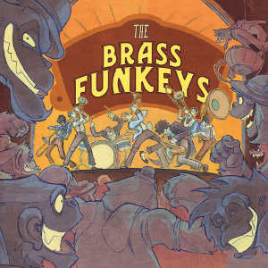 The Brass Funkeys  (2014)  Produced, mixed and mastered by Myles Eastwood  Recorded at Chain House Studio, Suffolk