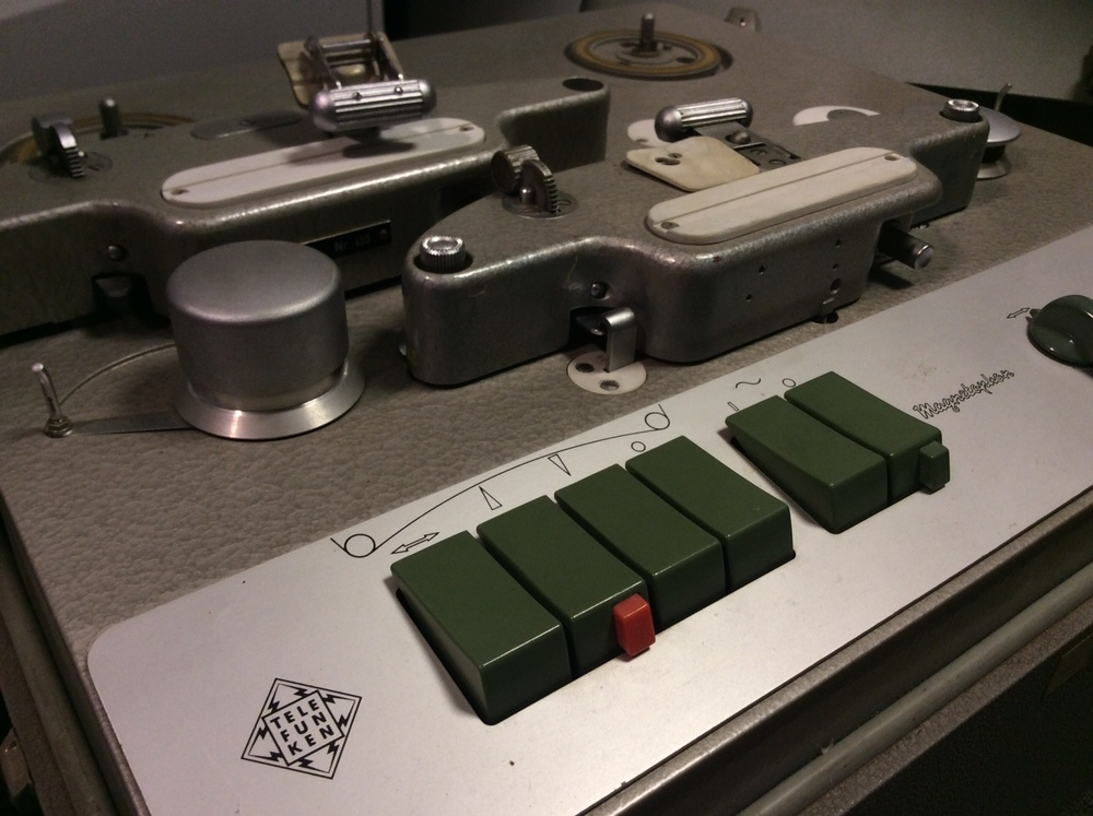 Telefunken Magnetophon tape machine