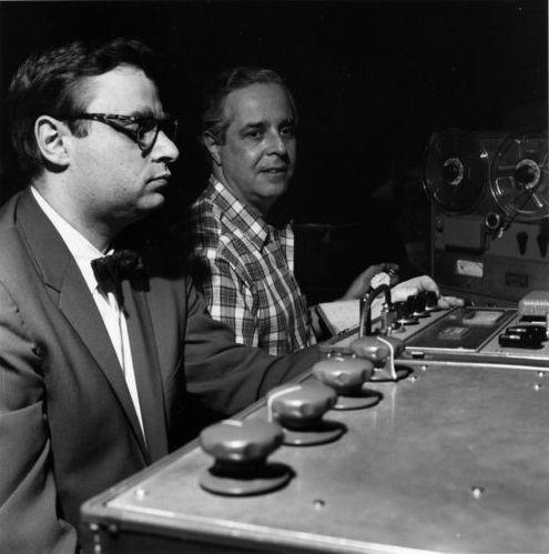 Rudy Van Gelder mixing desk