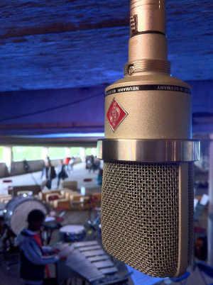 Neumann TLM102 microphone Peckham