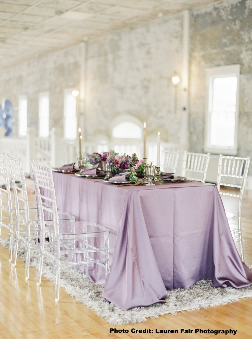 The Hall at Castle Inn - Tablescape