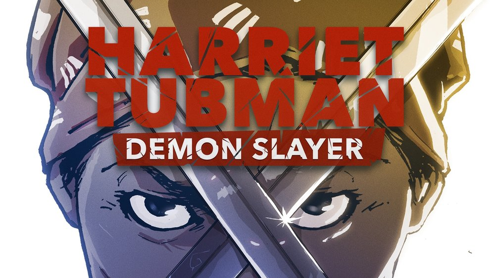 Harriet Tubman Demon Slayer - Also on Saturday meet Courtland Ellis, artist of the new comic book Harriet Tubman Demon Slayer. He will be on hand at the store from 10:00 until 2:00. Signed copies will be available for only $2.99.