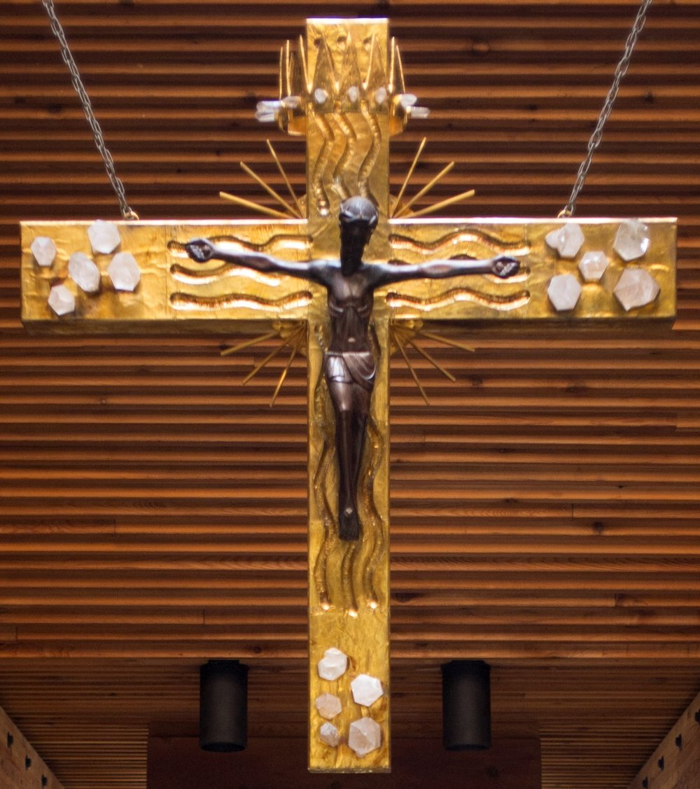 Crucifix in the Monastery Chapel