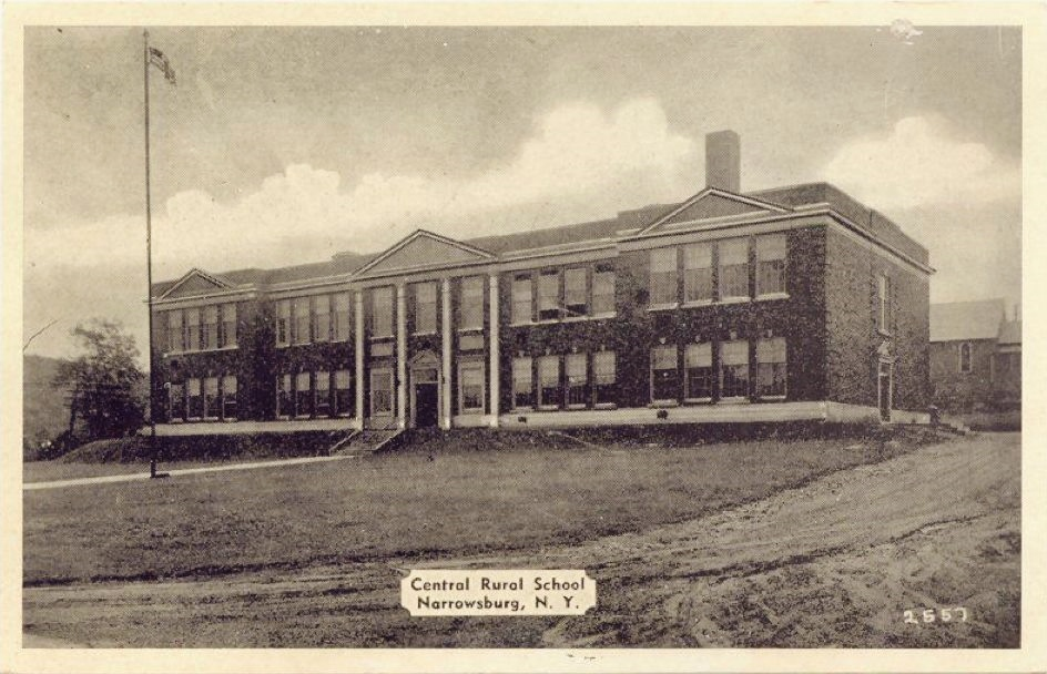 Narrowsburg Central School Building Photo