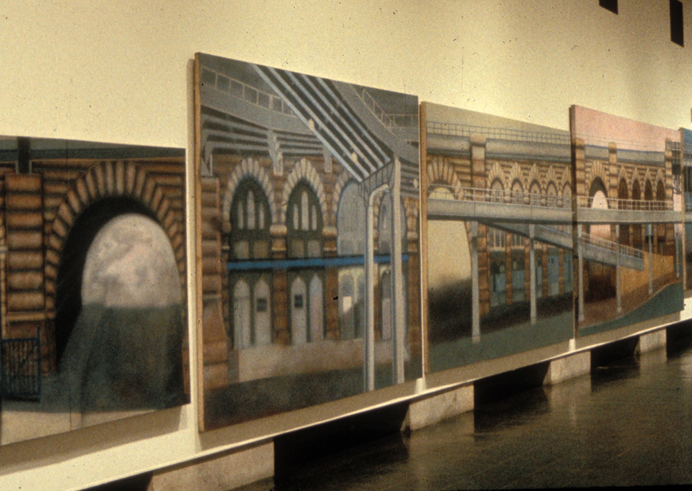 Brooklyn Museum Installation-detail