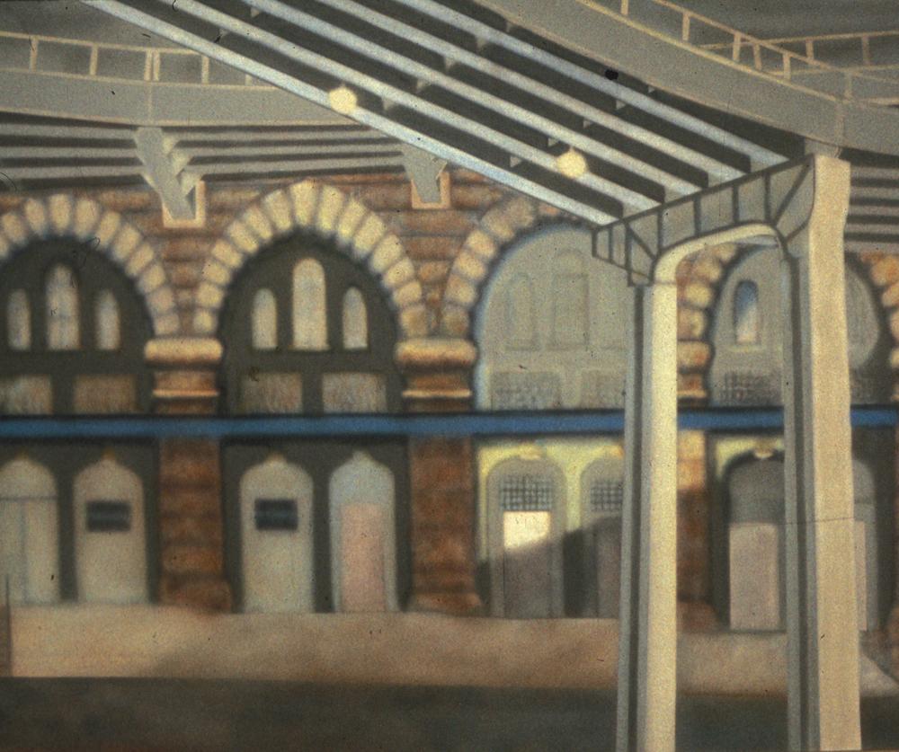 II. Gold Street Arches   7' x 10' ac/c