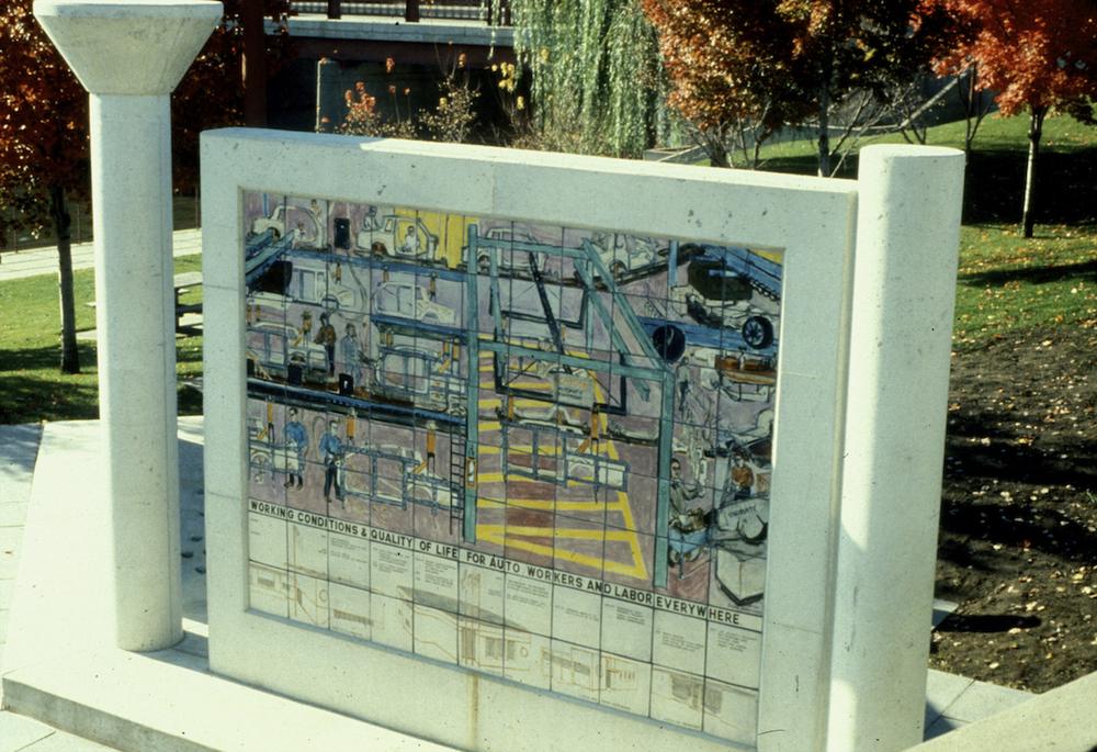 Mural D. '80s Assembly/ Union Progress