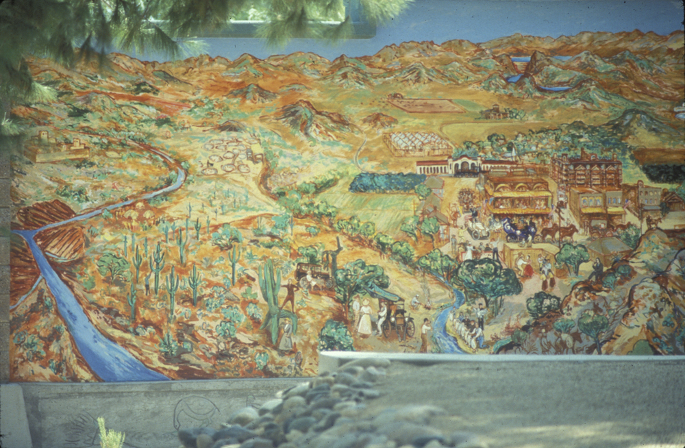 PHX. mural - early history into the 1920s