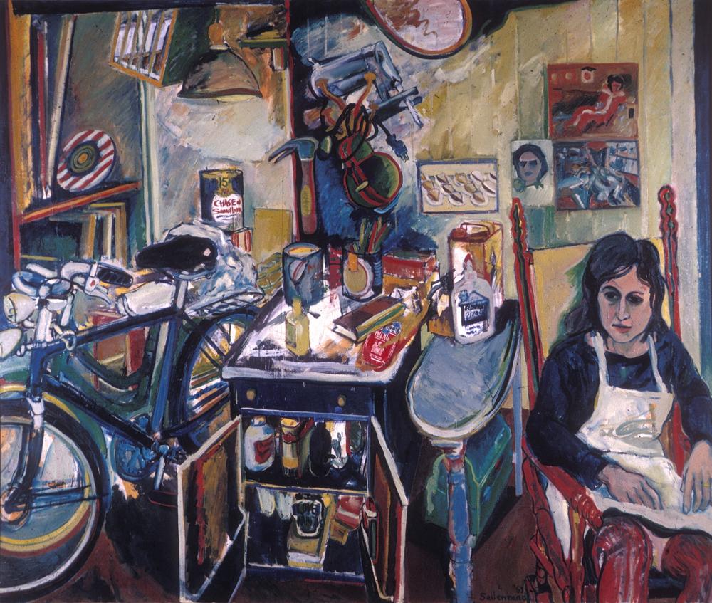 Chgo. I Love Painting '63 5'x6' o/c
