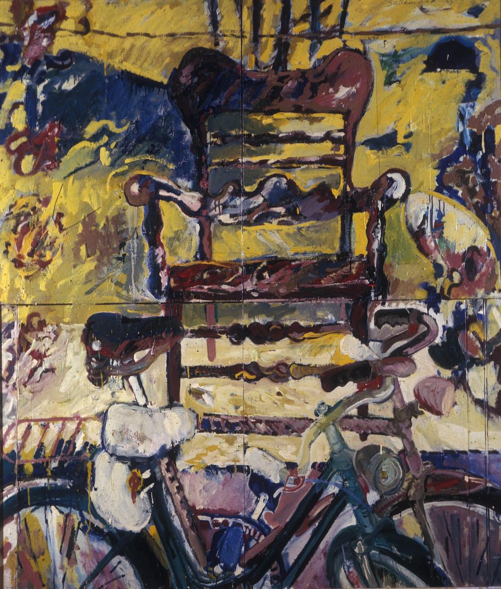 Chgo. Chair & Bikes '63 3'x5' o/c