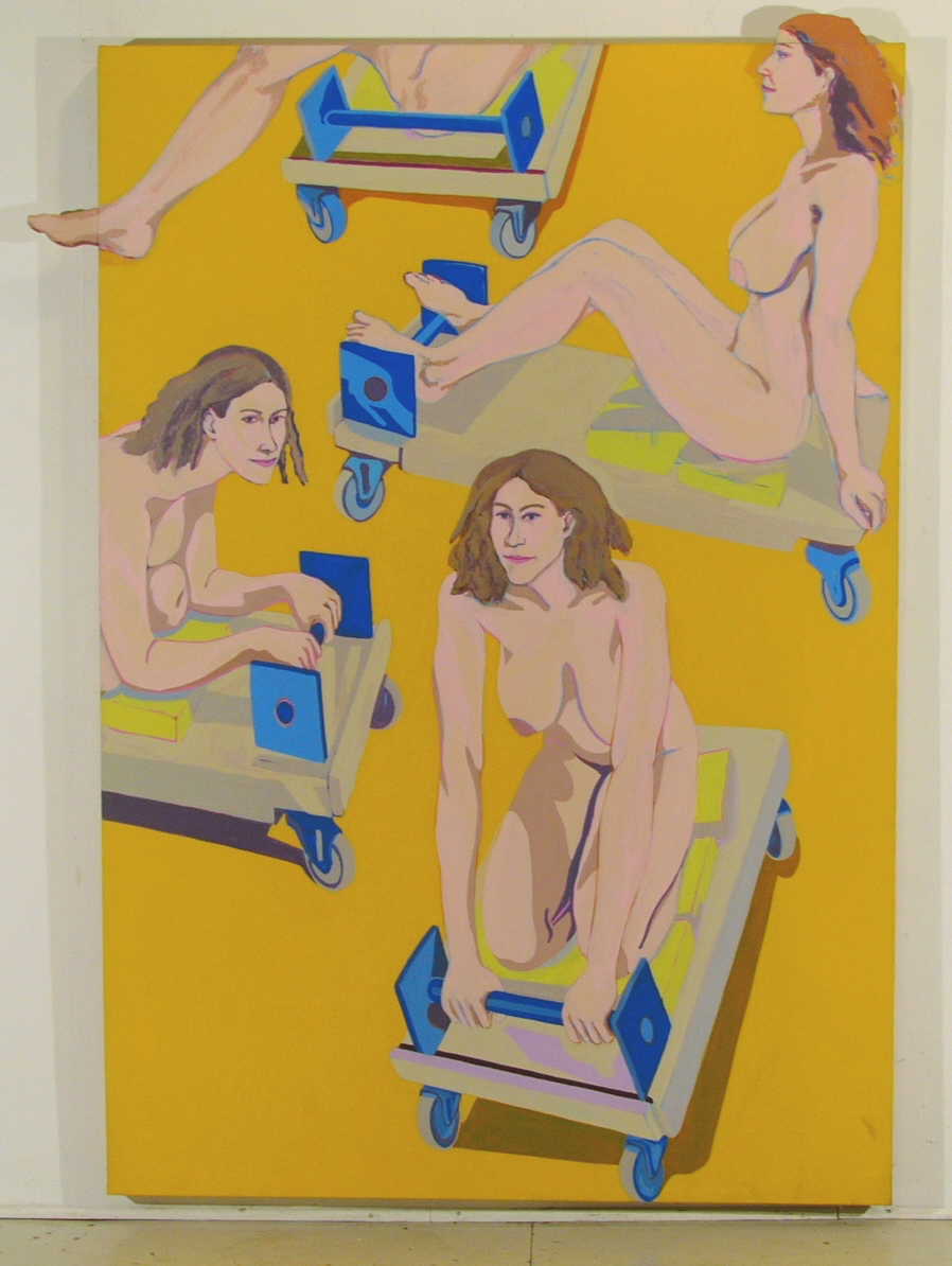 """Ann on Dolley '69 87x64"""" ac/c&w"""