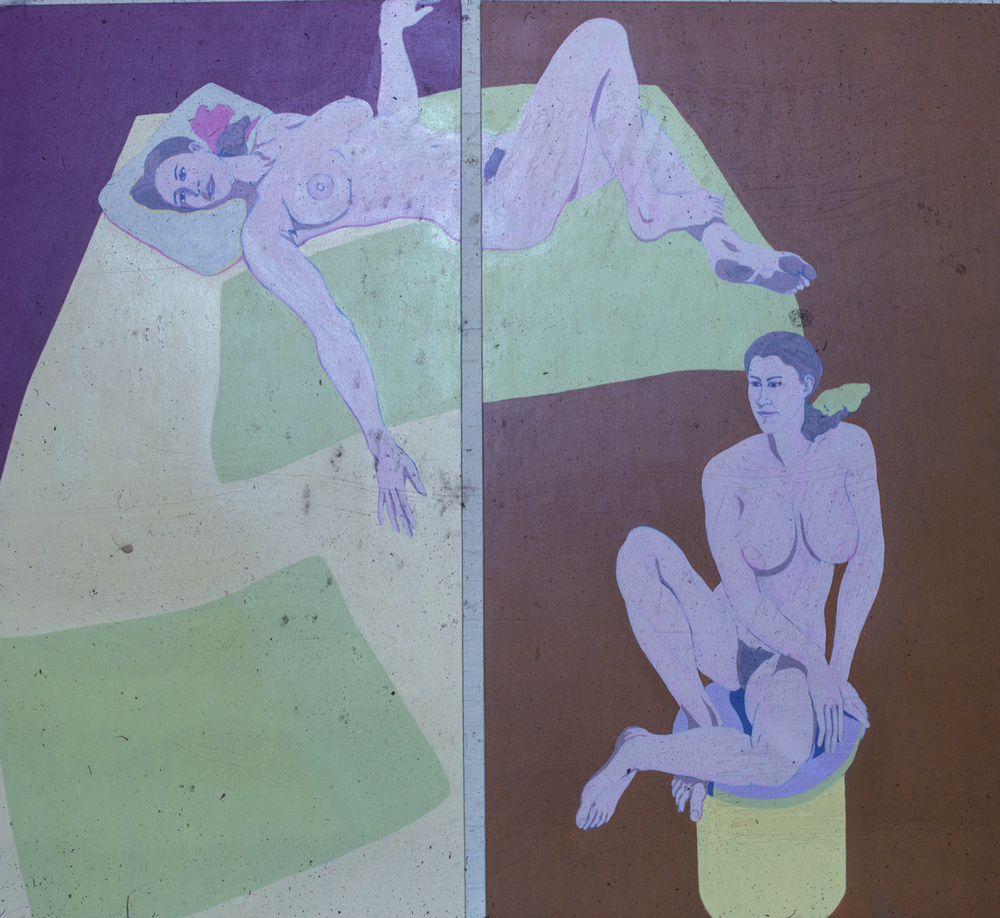 Double Ann '69 7'x8' ac/vinyl