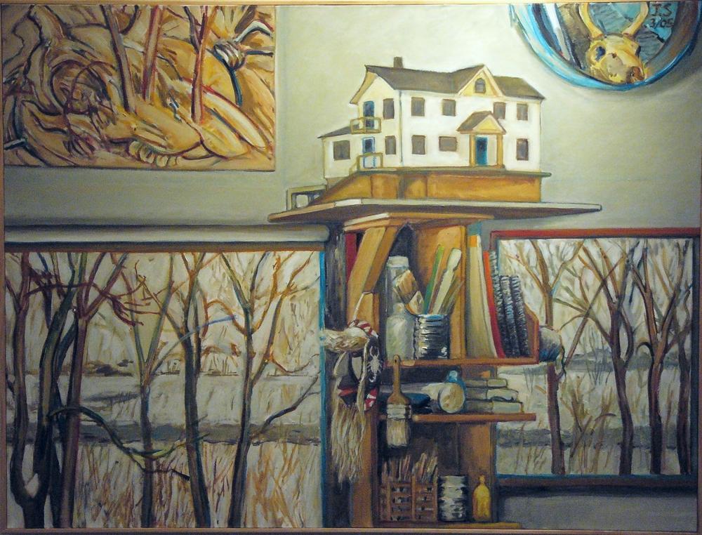 Model House '05  41x54  oil/c