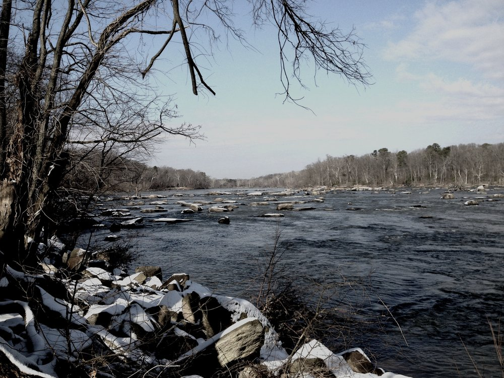 The James River at Pony Pasture