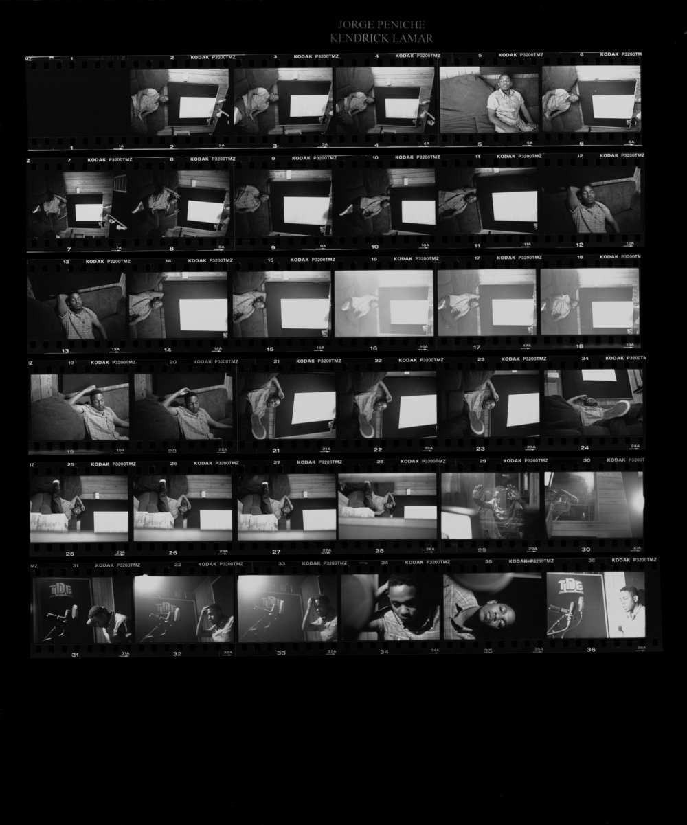 Kendrick Lamar by Jorge Peniche, 2007
