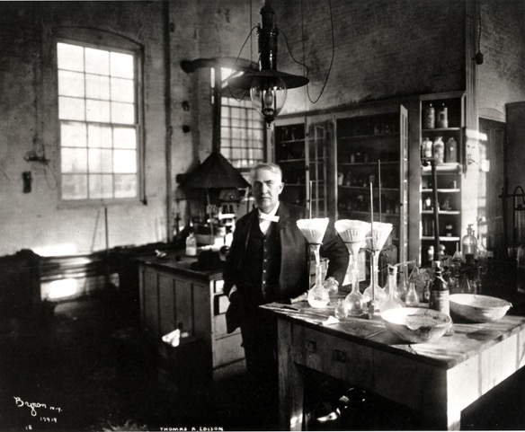 Thomas Edison courtesy of the U.S. Department of the Interior