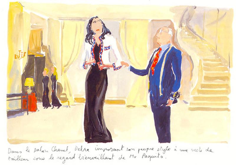 Debra Scherer by Jean-Philippe Delhomme for  Paris Vogue