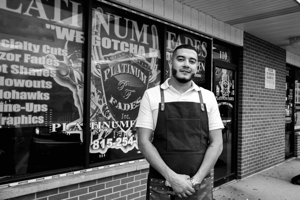 """""""Currently, I have twenty working barbers, and we are here to cut. My team brings the business. My barbershop is culture. Period.""""  - Israel Torres"""
