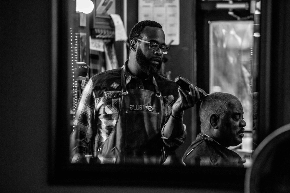"""""""Black barber culture is the foundation of black-American businesses. This cultural thing. This cutting hair for people who look like you or for anyone who needs a haircut. Whether it be for style or a health thing, it's precious for black culture."""""""