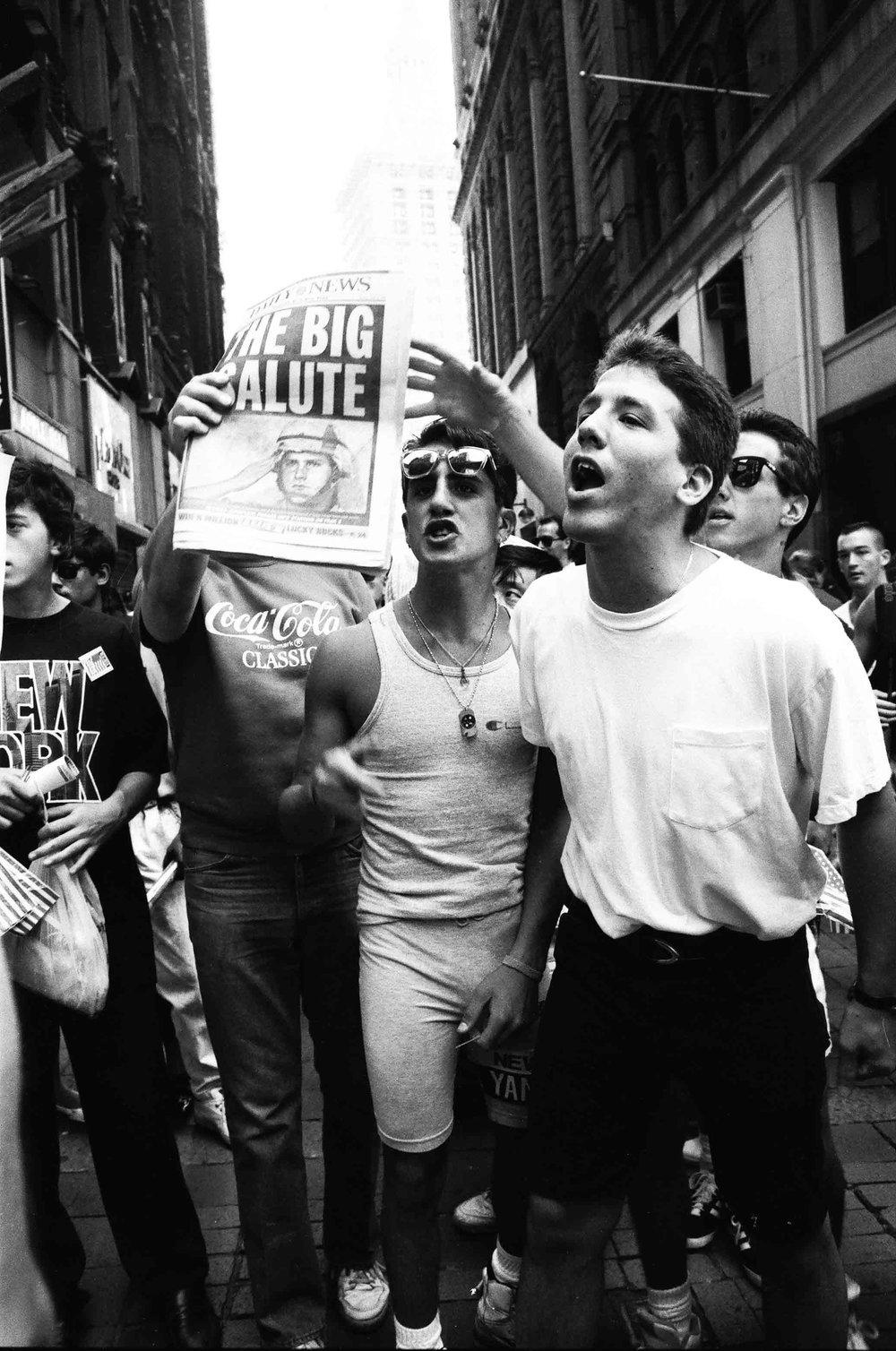 Gulf War Protest 1991 by Salimah Ali