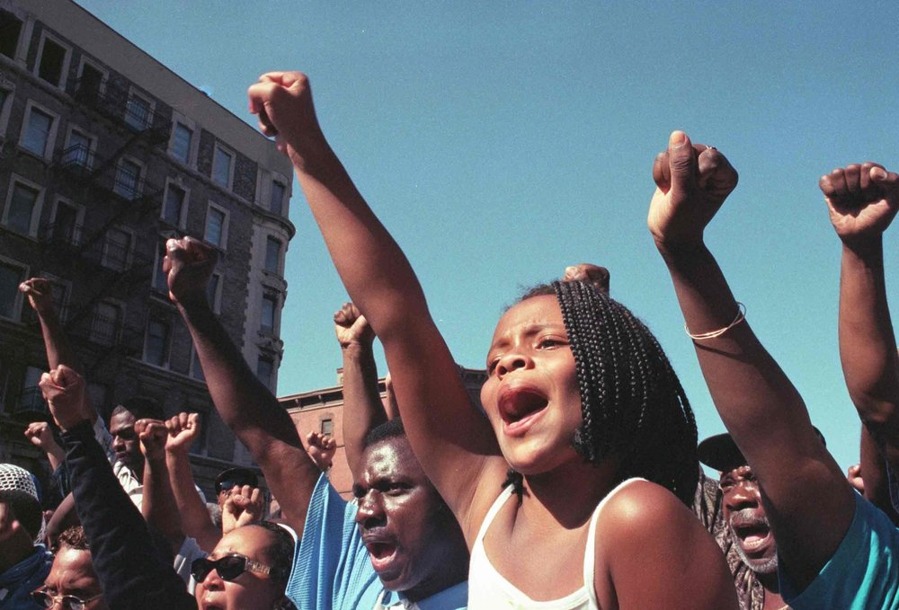 Million Youth March 1998 by Salimah Ali