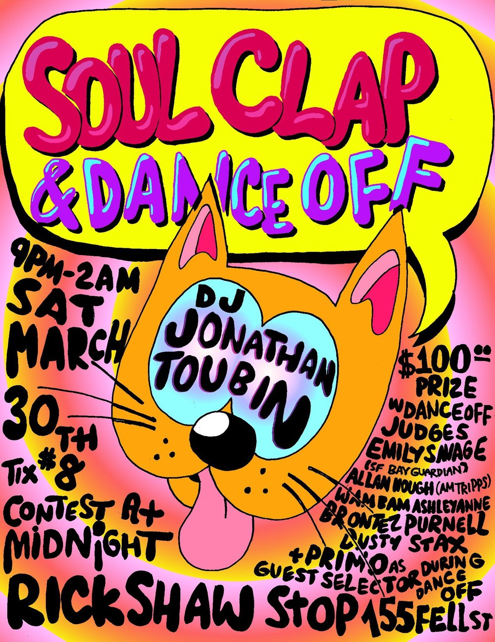 SF Soul Clap March 2013 Flyer.jpg