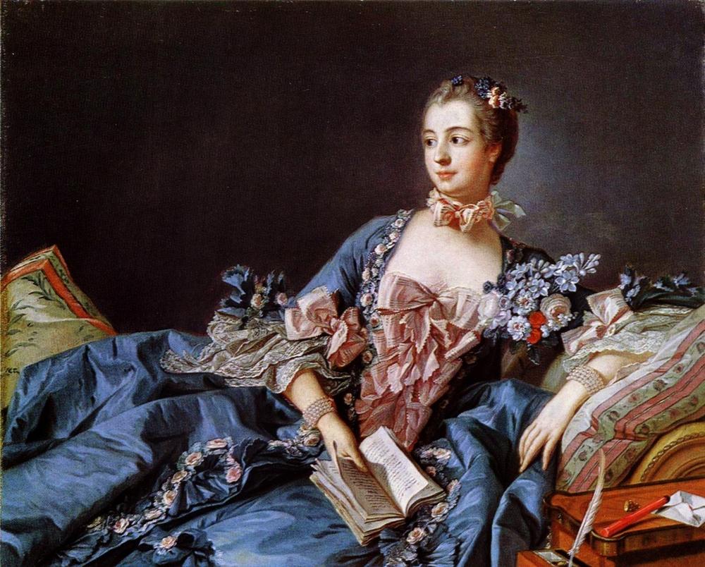 Madame Pompadour, Francois Boucher
