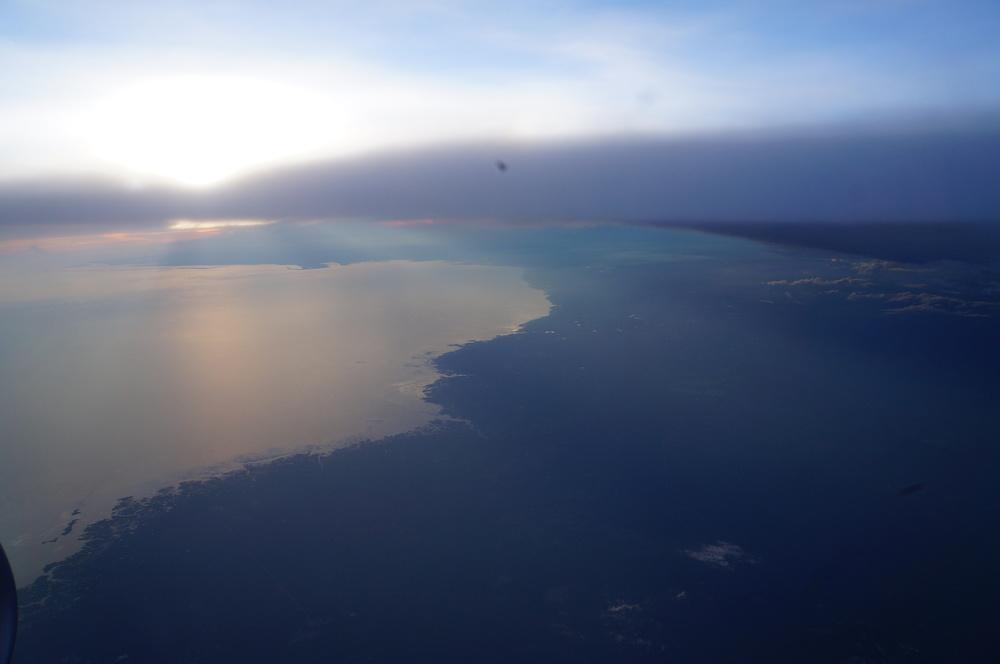 ¡Tierra a la vista! Entrando a EEUU por Florida