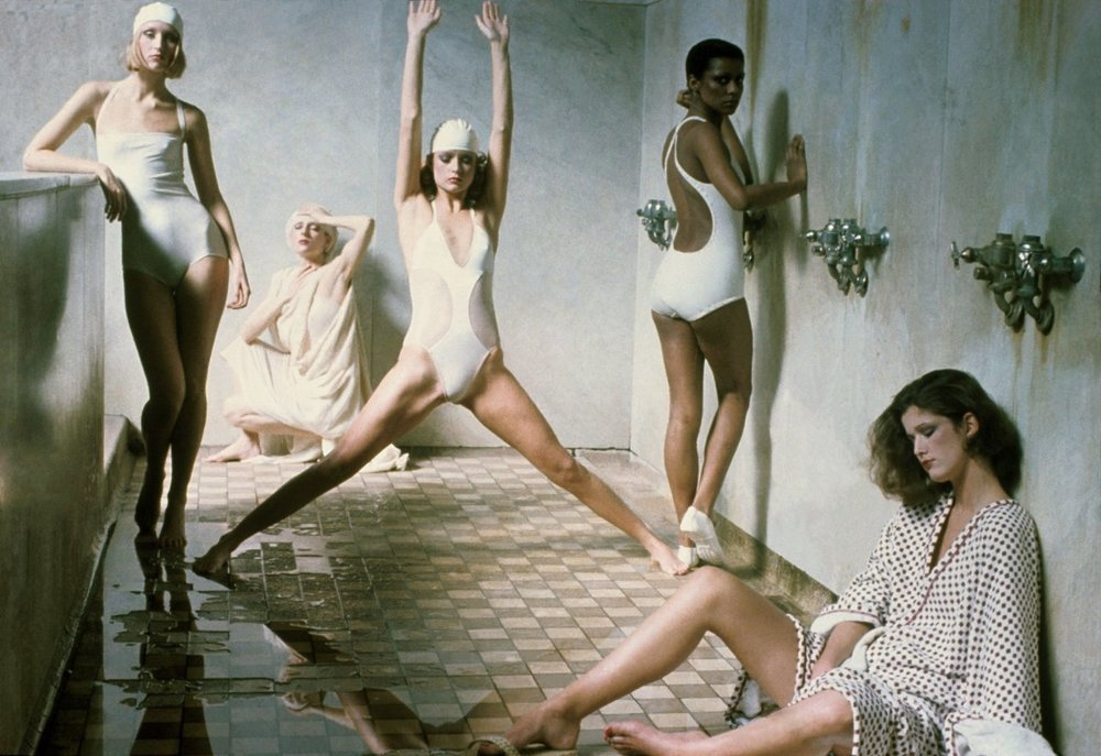 vogue :     Sulfur baths might just be a winter skin cure-all—if you can get past the smell.        One Vogue editor put the rumors to the test in Tbilisi, Georgia.         Photographed by Deborah Turbeville, Vogue, May 1975