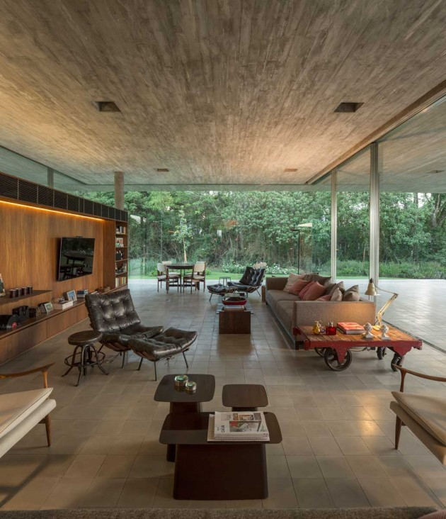 creativehouses :     The living room of Redux House in Sao Paulo,  Brazil     via  reddit      Read More