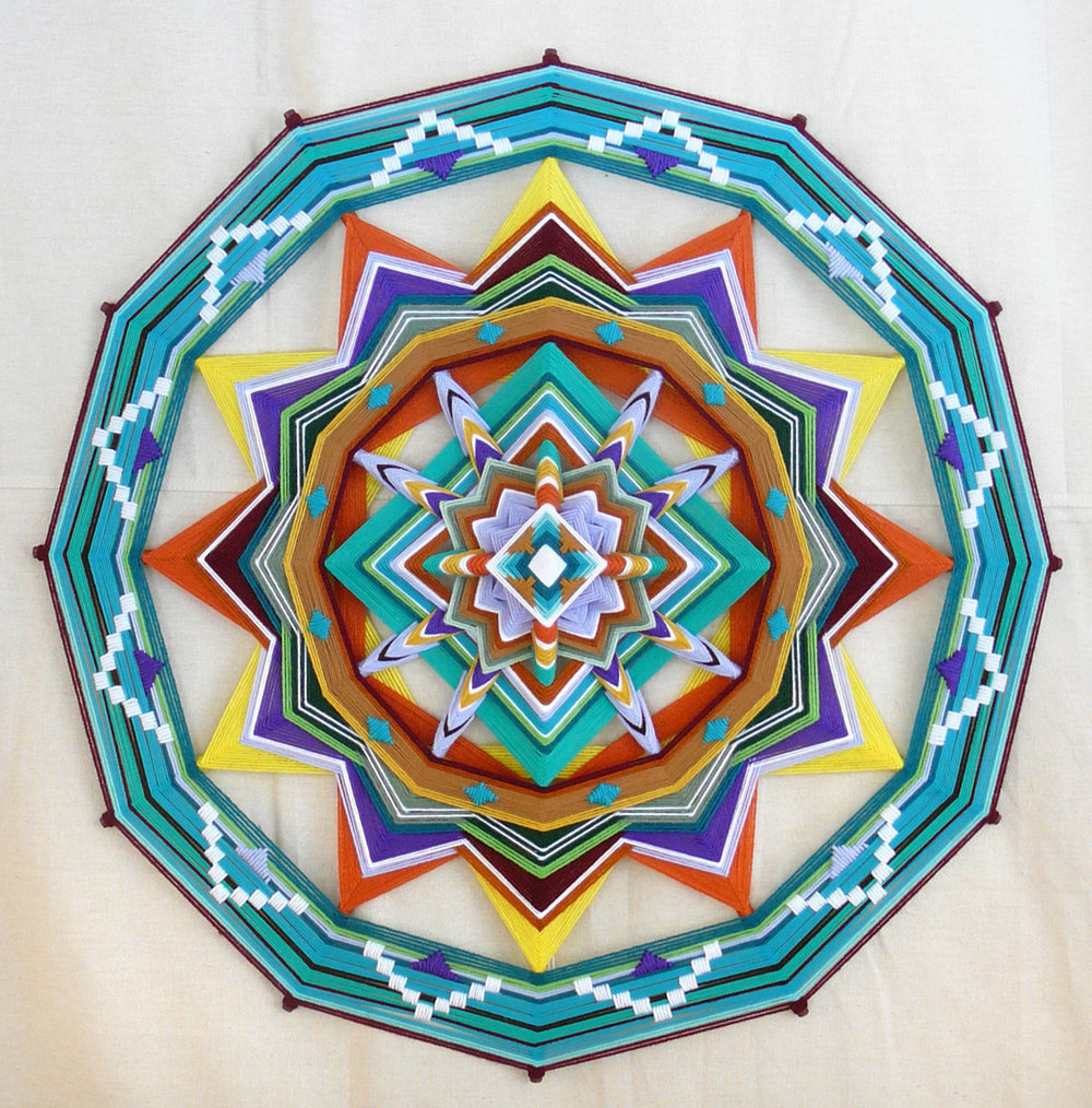 aviarystudio :      jays mandalas  (via  honestly wtf )