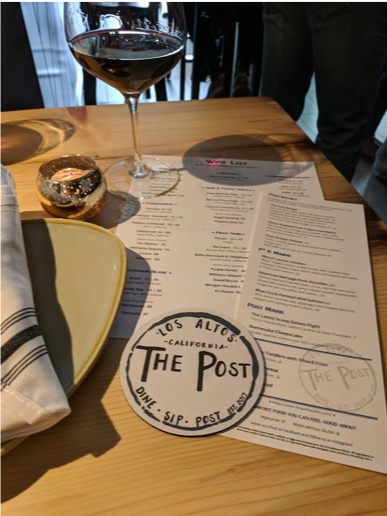 Soft Launch - Menus and coasters to fit the brand feel
