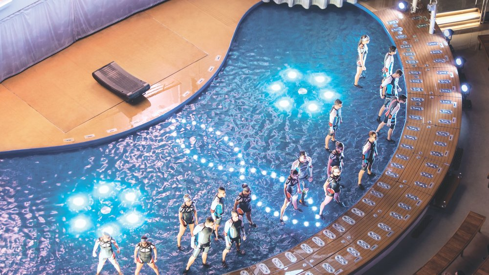 AquaTheater High Dive | Harmony of the Seas