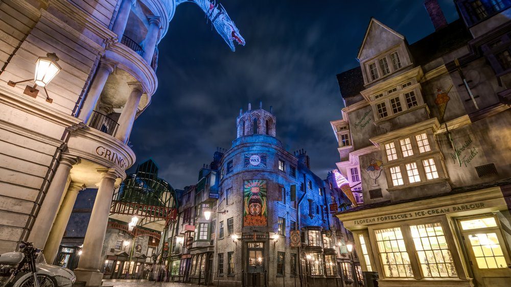 The Wizarding World of Harry Potter™ - Diagon Alley™ en Universal Studios Florida®