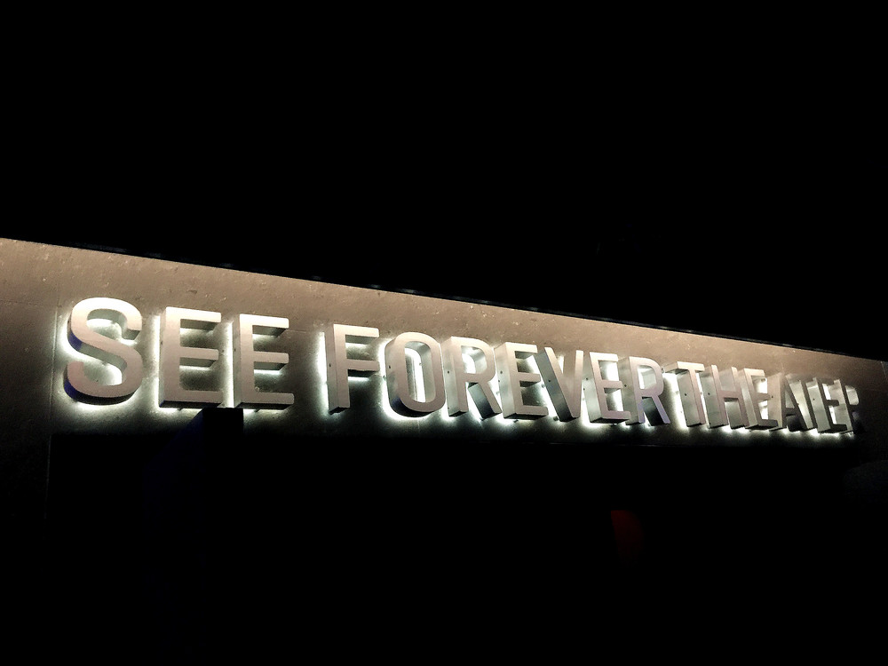 See forever.