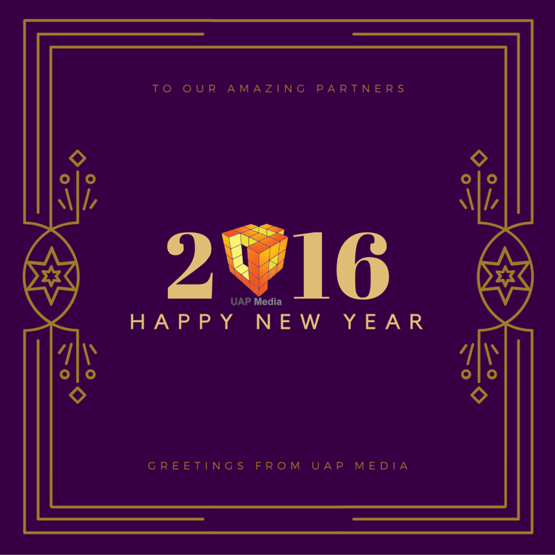 We appreciate your attention and trust in us during 2015, and we promise to do better in 2016. You Name It, We Do It.
