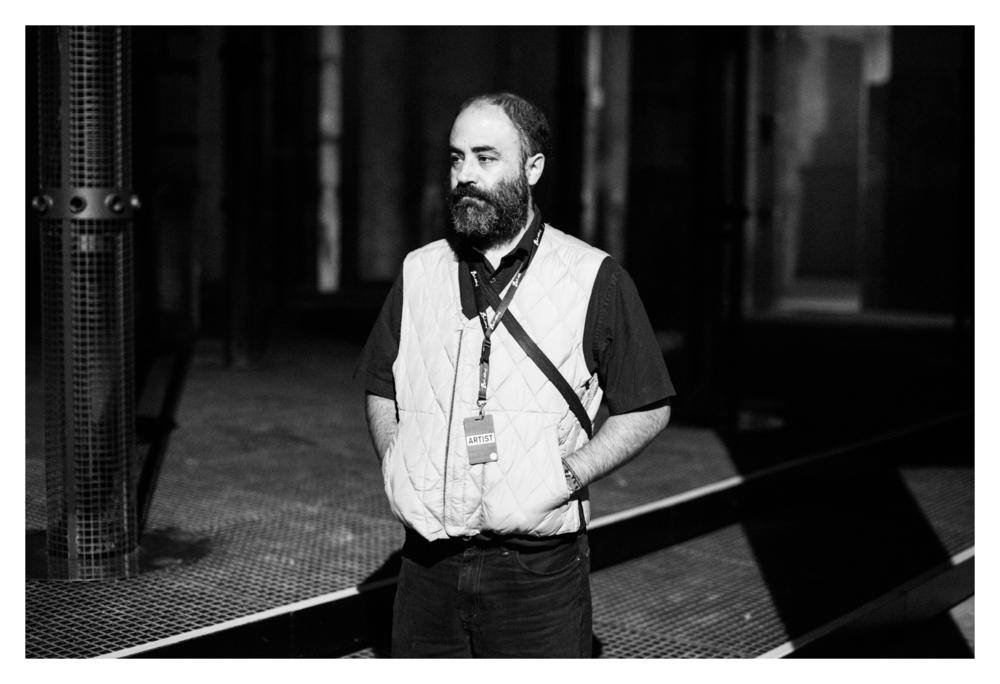 Murcof at Berlin Atonal. Image: Camille Blake