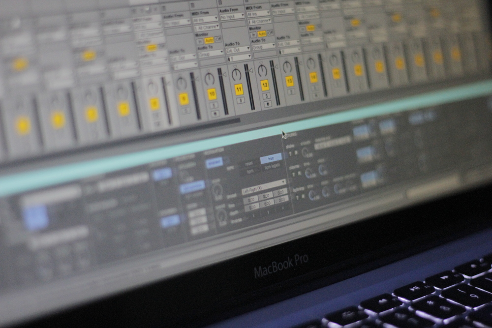 The 4DSOUND Max For Live patch, offering 200 parameters for spatial control