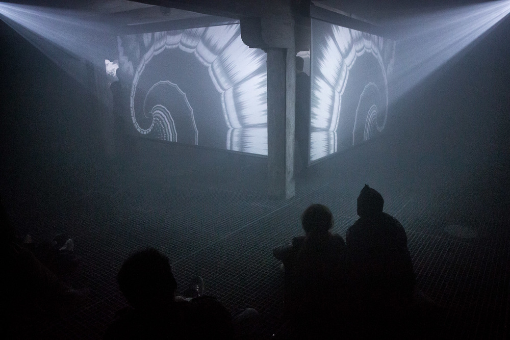 'White Light Black Static' performed at the Spatial Sound Institute for CAFe Budapest.