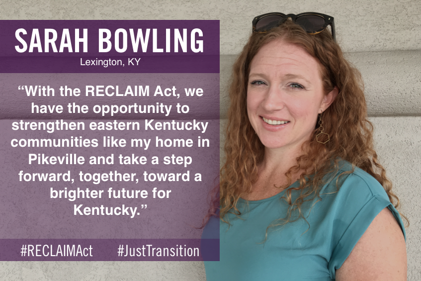 Sarah Bowling of Lexington, KY