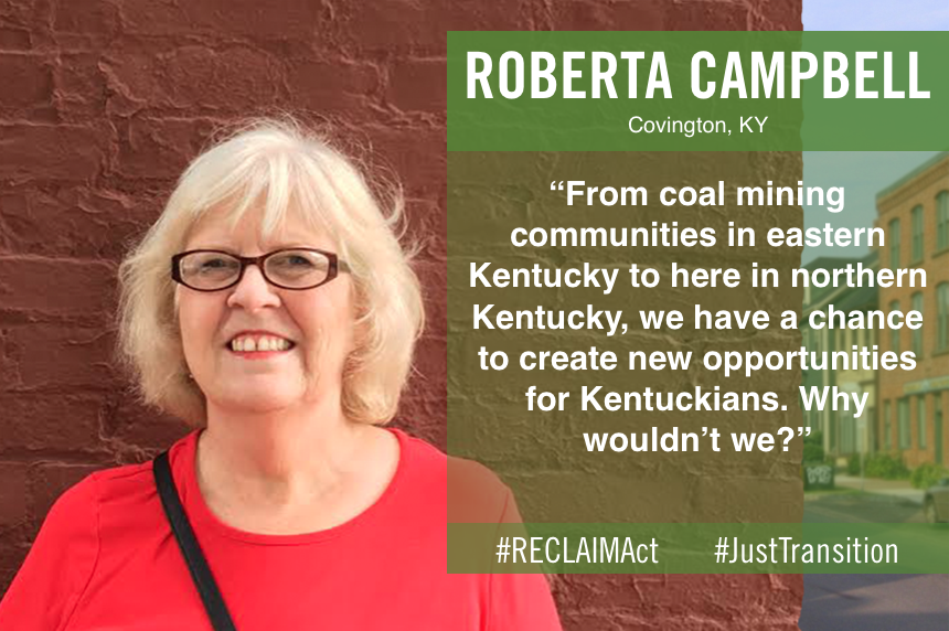 Roberta Campbell of Covington, KY