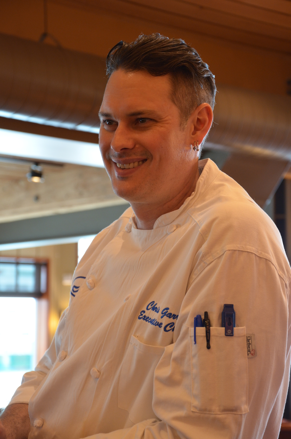 Executive Chef Chris Garr