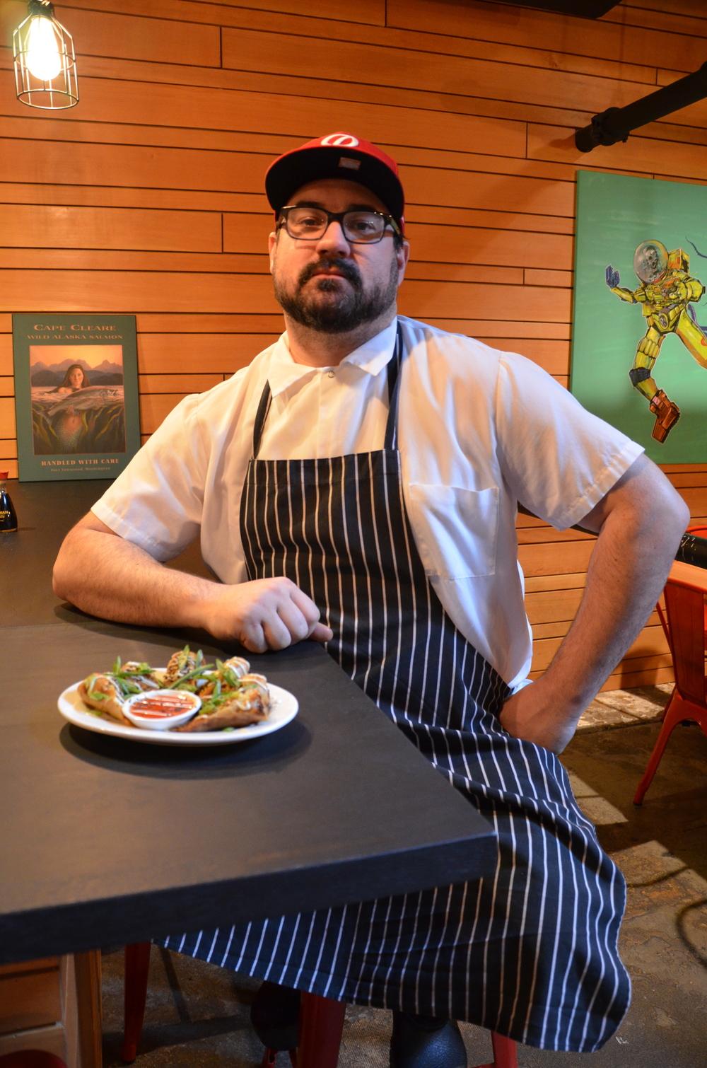 Chef Garrett Doherty