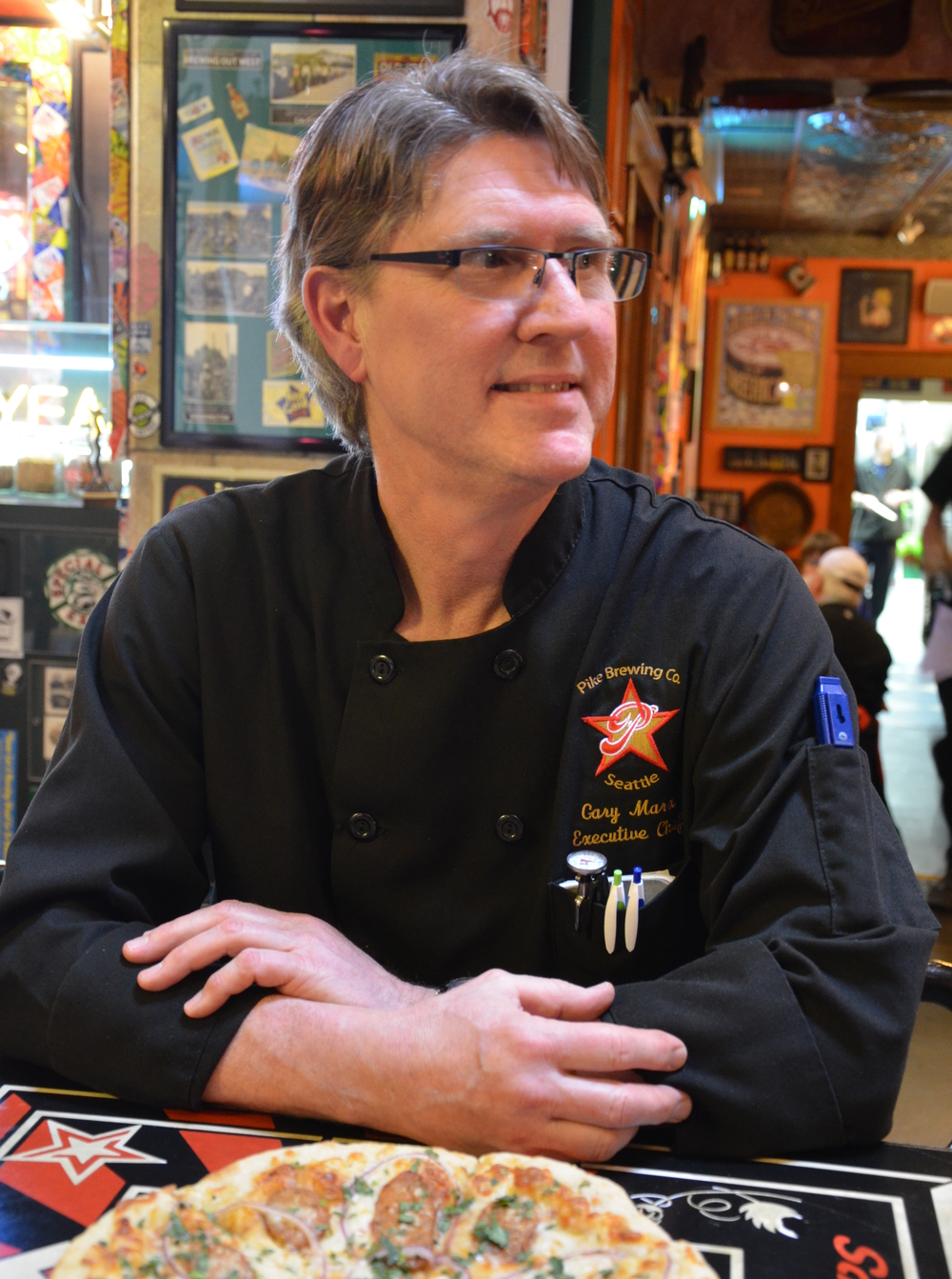 Owner and Executive Chef Gary Marx