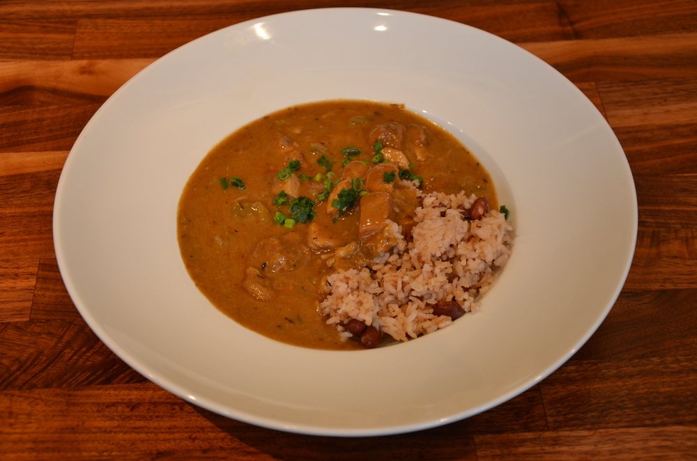 Gumbo with Cajun Andouille