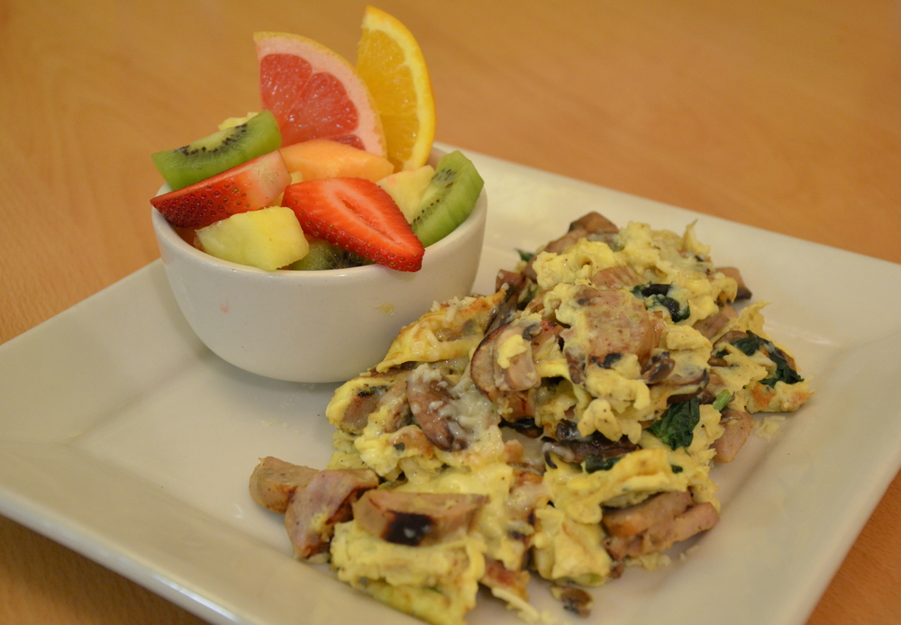 Joe's Scramble with Maple Pork Sausage