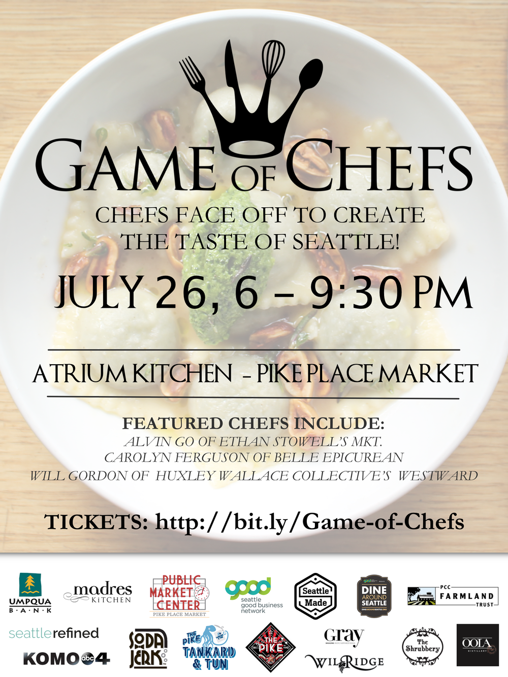 First Annual Game of Chefs - Seattle — Uli\'s Famous Sausage