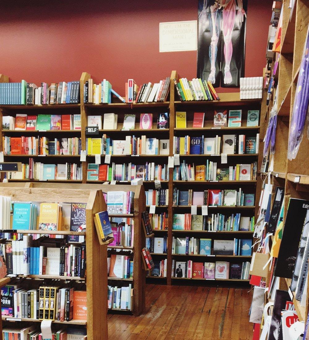 Elliot Bay Book Company, AKA, heaven.