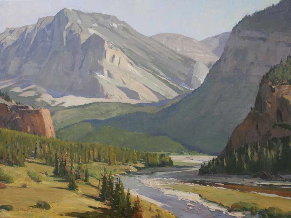 Swift Current Creek - Glacier National Park - SOLD